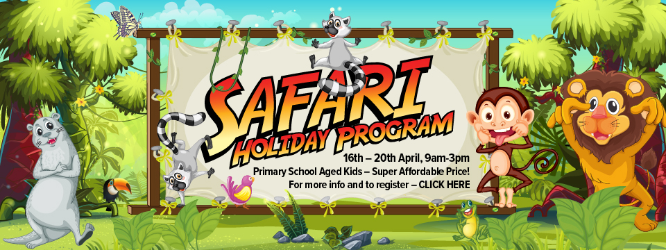 Register for Safari Holiday Program