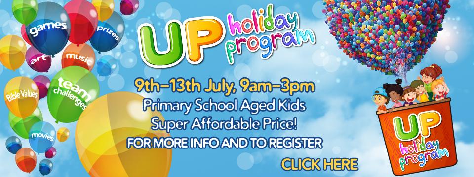 Register for UP Holiday Program