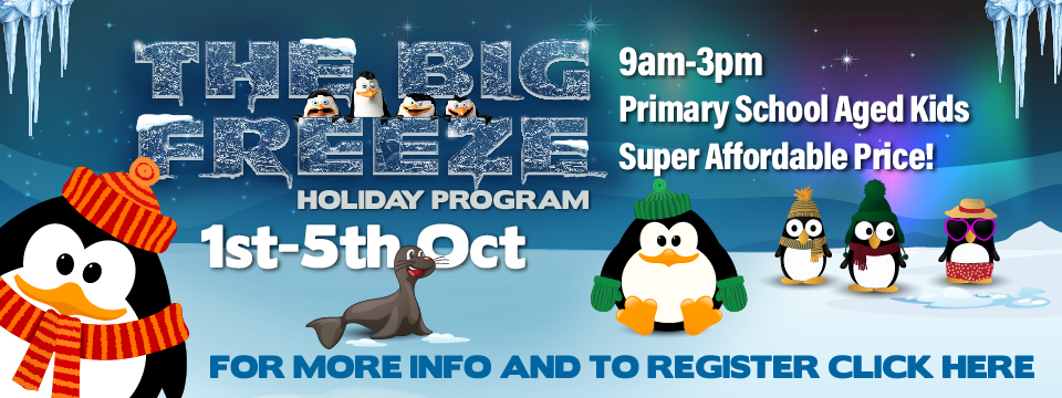 Register for The Big Freeze Holiday Program