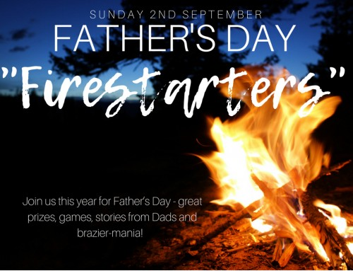Father's Day 2018 – Burn or Build