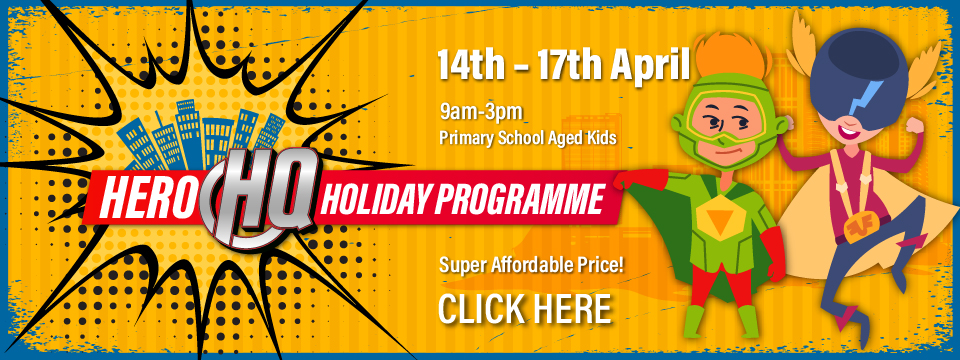 Register for Hero HQ Holiday Programme