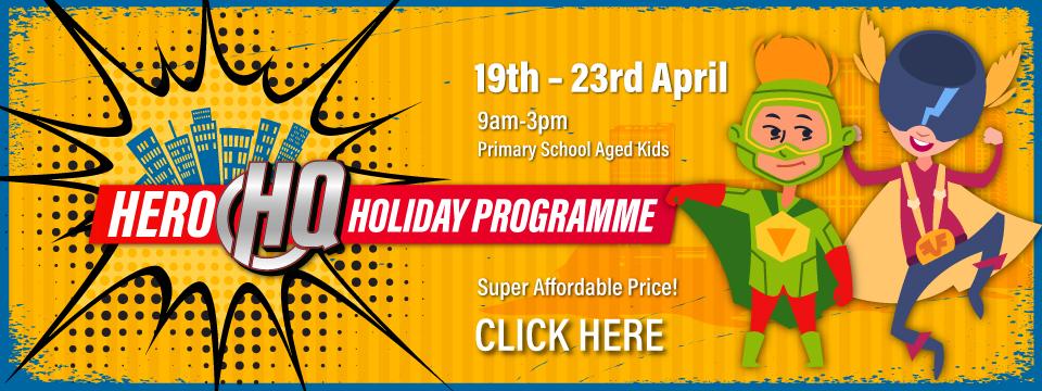 Register for Hero HQ Holiday Program